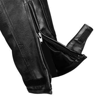 Brand DUHAN Men\'s Motorcycle Waterproof PU Leather Trousers Motocross Drop Resistant Riding Racing pants