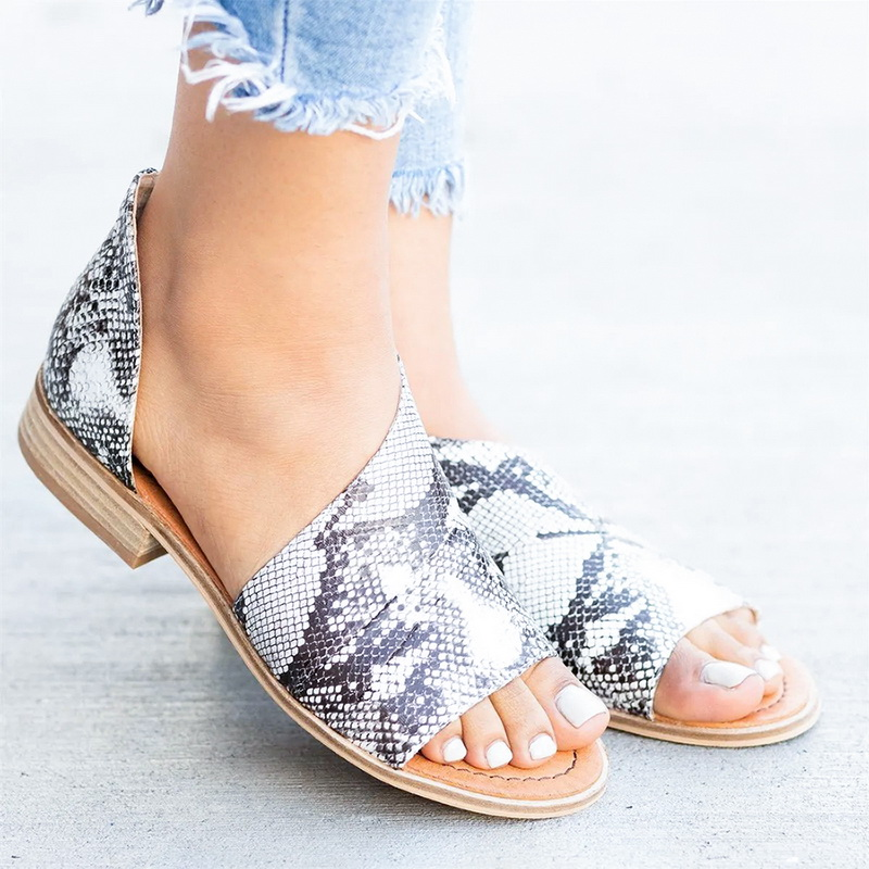mid heeled chamois ankle strap peep toe basic casual wedge sandals