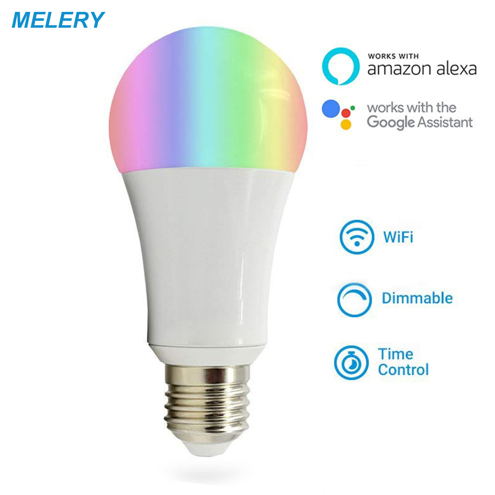 Wifi Smart Led Light Bulb E26 Lamp 100w Equivalent Warm White Rgb Dynamic Atmosphere Light Work With Echo Alexa,google Assistant Back To Search Resultslights & Lighting