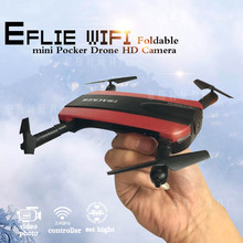 Telephone Management Altitude Maintain FPV Quadcopter Pocket Jxd523 Elfie foldable Mini Selfie Drone With Digital camera WiFi rc Helicopter H37 field