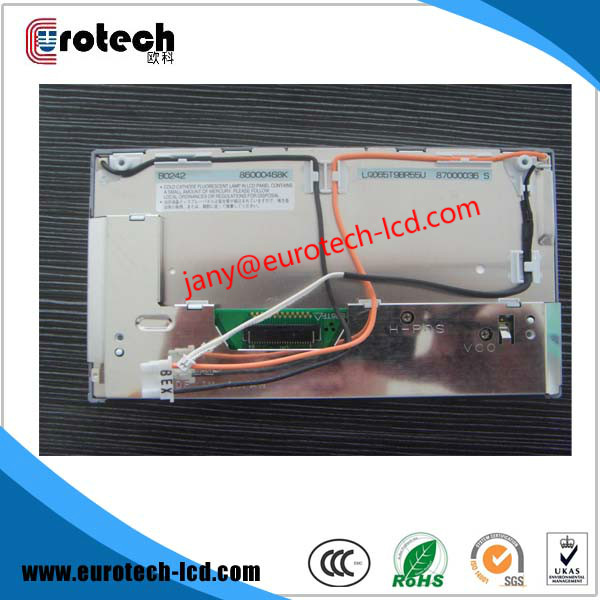 Free DHL shipping 5pcs per lot New Original  LQ065T9BR55U LCD for BMW X3 X5 E38 E39 E46 LCD GPS Navi