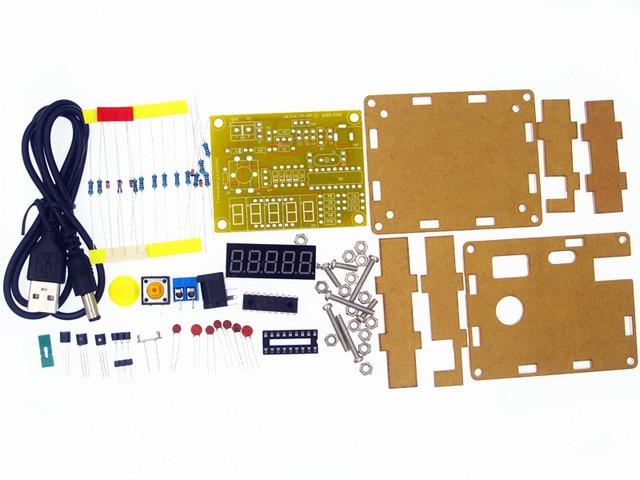 Neue Ankunft DIY Kits 1Hz-50 MHz Quarzoszillator Tester Frequenzzähler TESTER Meter Fall Besten Preis Langlebig DIY Led Kit