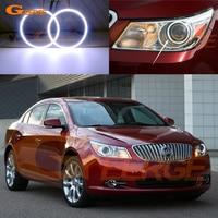 For Buick LaCrosse 2010 2011 2012 XENON HEADLIGHT Excellent Ultra Bright Illumination COB Led Angel Eyes