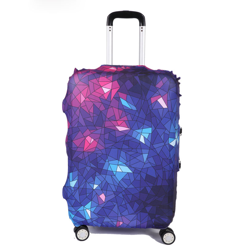 TRIPNUO Thicker Starry Sky Luggage Cover Suitcase Protective Cover For Trunk Apply To 19''-32'' Suitcase Cover