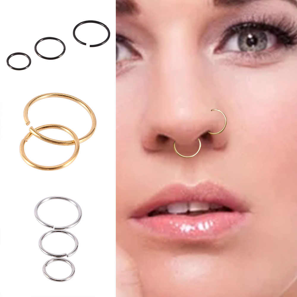 1 Pcs New Arrival Surgical Steel 0 8mm Cartilage Piercing Stud