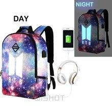 Glow-in-the-Dark Galaxy Backpack