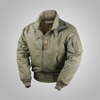 US Vintage Air Force Cotton Jacket 45P Winter Coat Stand Collar USAF Military Outwear Hooded Loose Army Uniform Large Size S 5XL