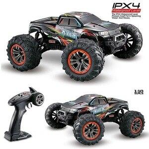Juguetes XINLEHONG 1/10 9125 RC Car 2,4 GHz 4WD 46 km/h, Control remoto de alta velocidad, camión de campo corto a prueba de agua