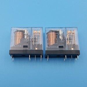 Image 2 - 10Pcs Omron G2R 2 DC12V 24V 8Pin PCB Mount DPDT Power Relay 5A/250VAC