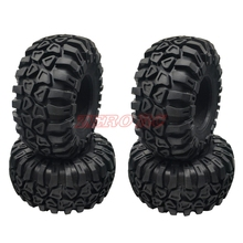 "4PCS ROCK SOFT 2.2"" Tires 128mm CRAWLER Tyre For 1/10 R"