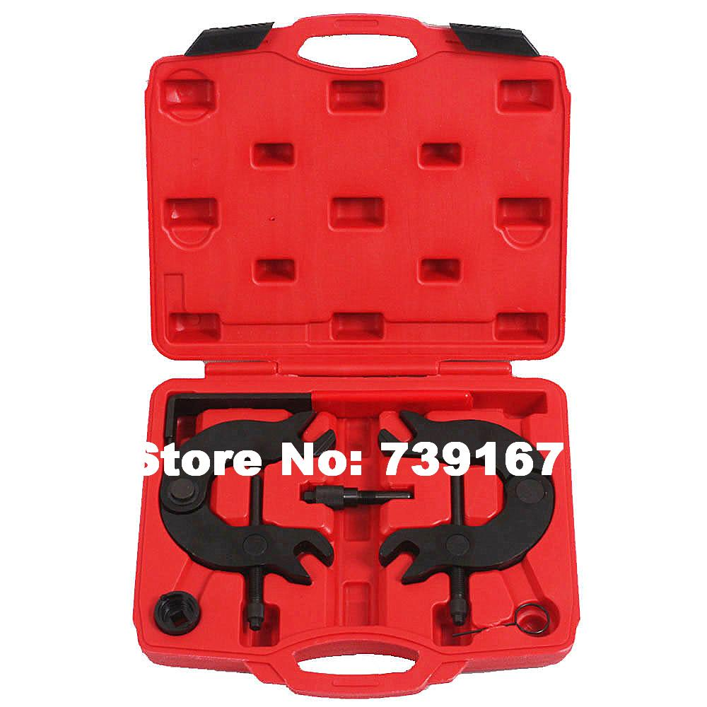 Auto Engine Timing Camshaft Locking Alignment Replacement Repair Garage Tools For Volkswagen Audi A4/A6 POLO 3.0 V6 TDI ST0140 camshaft pulley wrench holder for subaru forester 3pcs set engine timing belt remove and install repair toolkit