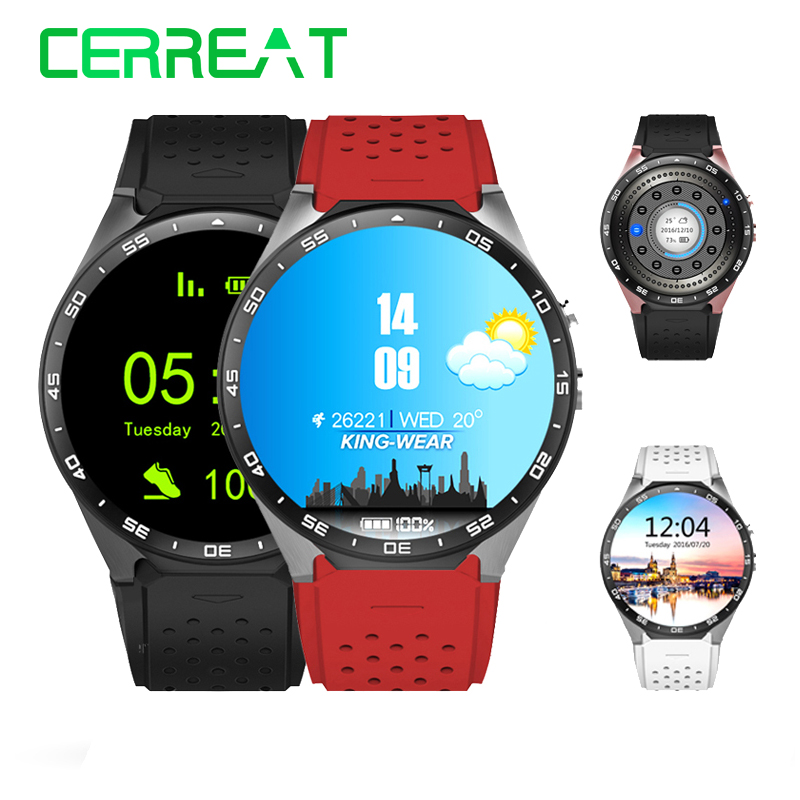 KW88 Smart Watch Android 5.1 OS MTK6580 Quad Core 400*400 Smartwatch 3G WiFi GPS Heart Rate Wristwatch Reloj Inteligente bluetooth heart rate gps smart watch kw88 mtk6580 quad core 1 39 inch resolution 400 400 3g wifi smartwatch phone