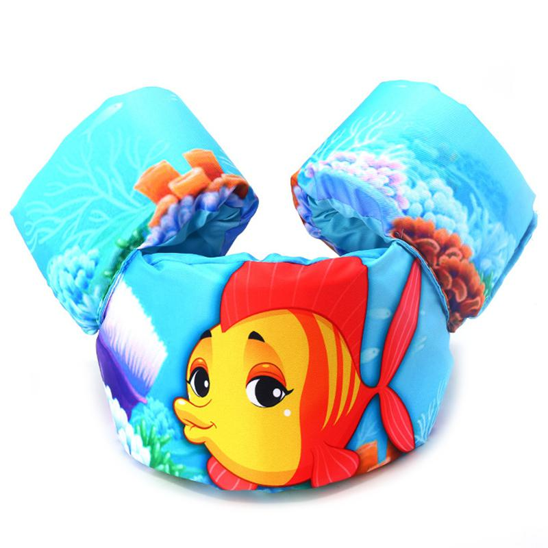 Swimming Pool Floating Toys Children's Life Jacket Baby Floating Water Vest Swimming Drift Life Vests With Cartoon Pattern
