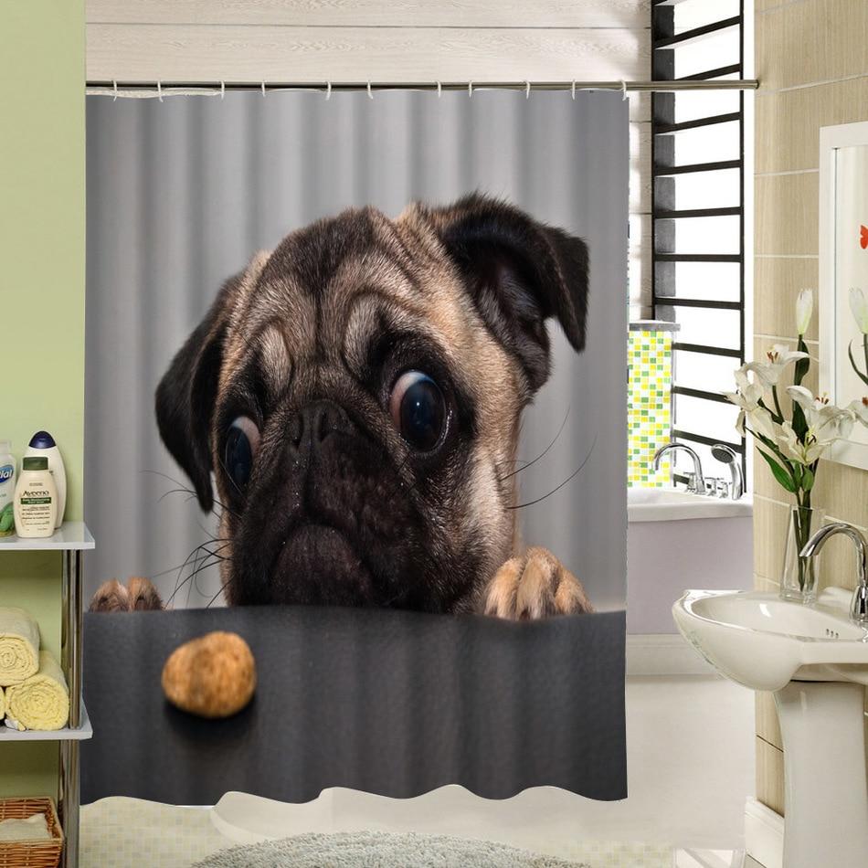 Hond Douchegordijnen-Koop Goedkope Hond Douchegordijnen loten van ...