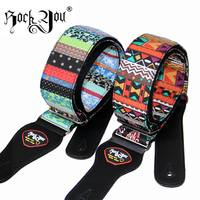 Fashion Design Guitar Electric Guitar Strap Classical National Style Embroidery Electric Guitar Straps