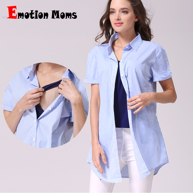 Emotion Moms Loose Maternity clothes Long Maternity Tops Nursing top Breastfeeding t-shirt for pregnant women nursing Clothing green home two layers maternity nursing tops for pregnant women breastfeeding pregnancy t shirt funny fashion maternity clothing