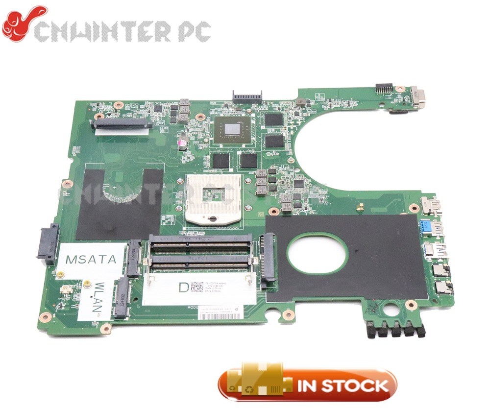 NOKOTION PC Motherboard For Dell Inspiron 17R 7720 Main Board DA0R09MB6H1 CN-072P0M 072P0M DDR3 GT650M Video cardNOKOTION PC Motherboard For Dell Inspiron 17R 7720 Main Board DA0R09MB6H1 CN-072P0M 072P0M DDR3 GT650M Video card