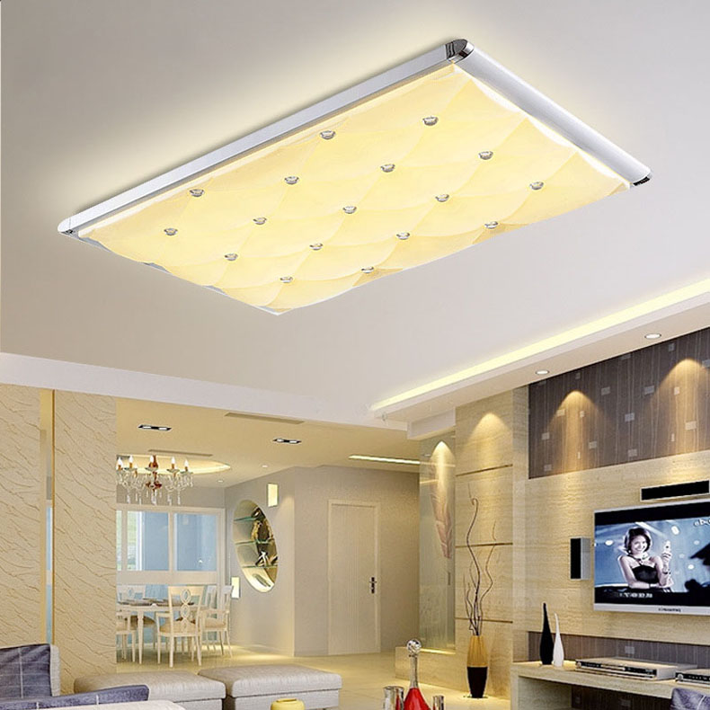 Eye-protective ceiling Lamp ultra thin LED ceiling light dimmable bedroom ceiling lamp with Remote Control luminaria teto