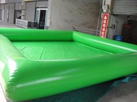 4M*5M high quality PVC sand pool Children play entertainment Inflatable pool