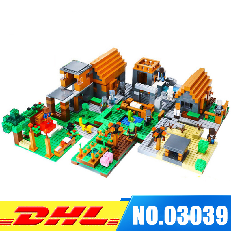IN Stock LEPIN 03039 1125 PCS 8 in1 My World Farm Village Building Toy Set Model Building Kits Blocks Girl Gift 10pcs 5 pin led strip to wire connector for 12mm rgbw rgby waterproof ip65 5050 led tape light connection conductor
