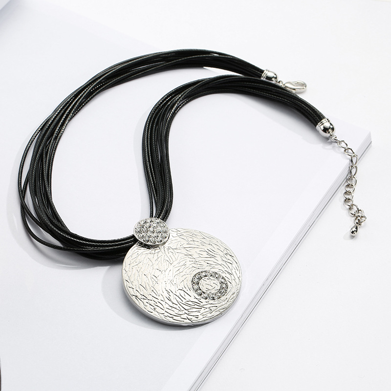 2018 Chakra Natural Pendant Druzy Europe And The Are Exaggerated Necklace  Sweater Chain For Amazon Act Role Ofing Is Tasted -in Pendants from Jewelry  ... 33c4eec7bb4b