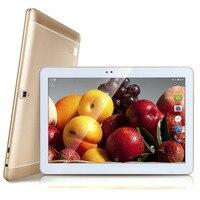 10.1 pouce Tablet 1280*800 IPS 4G Lte Android 6.0 Octa base 32 GB ROM 5MP Dual SIM OTG WIFI GPS bluetooth téléphone Tablette ordinateur