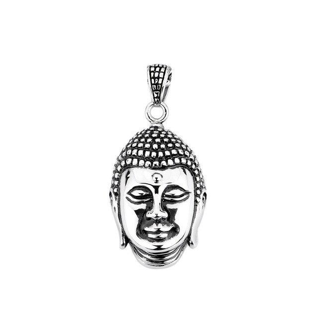 Amazon China Stainless Steel Men Jewelry Wholesale Necklace Wind Titanium  Buddha Pendant Personalized Jewelry Floating Charms 5771475299f6
