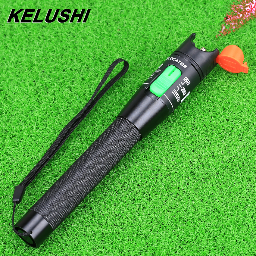 KELUSHI 30 mw Visual Fault Locator Rote Lichtquelle Fiber Optic Kabel Tester Test Tool 15-20 km