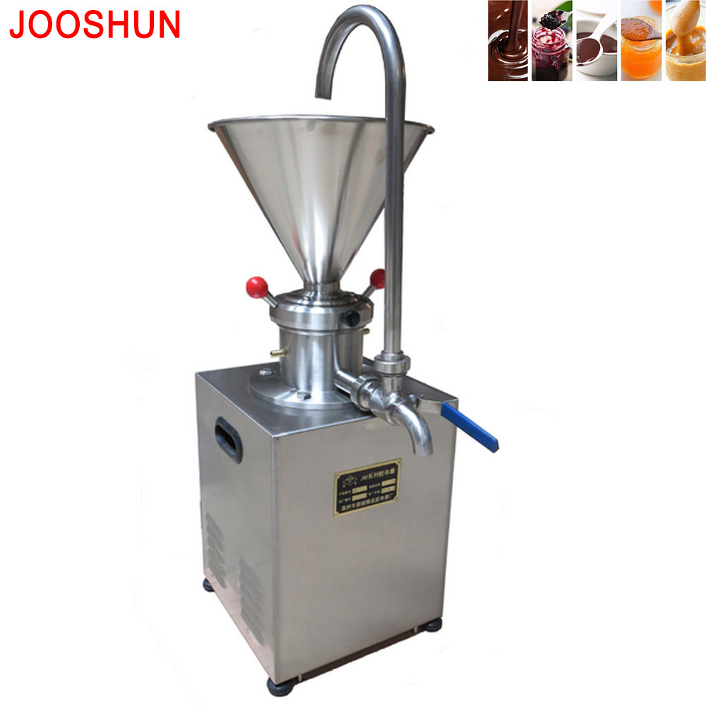1.5KW Colloid Mill Sesame Sauce Colloid Mill Tomato Peanut Butter Colloid Mill Soybean Grinding Machine Coating Grinding Machine Мельница
