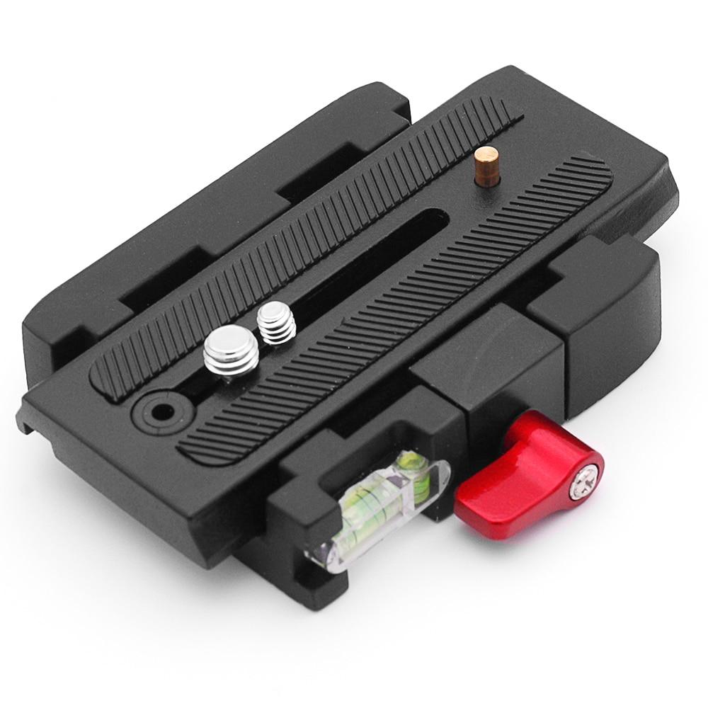 Universal P200 Quick Release Plate Aluminium Alloy Camera Tripod Plate For Manfrotto 501 500AH 701HDV 503HDV Q5 Tripod Monopod