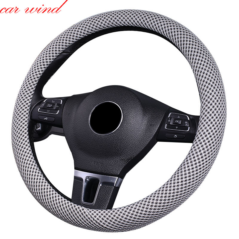 Car Wind steering wheel cover For mitsubishi lancer subaru forester peugeot 408 pajero sport mazda 3 chevrolet aveo wheel cover