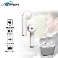 WaterLowrie Mini Bluetooth Earphones I7s TWS Wireless Earbuds For Apple IPhone IPad IOS In Ear Earpiece