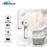 WaterLowrie Mini Bluetooth Earphones I7s TWS Wireless Earbuds For Apple IPhone IPad IOS In Ear Earpiece