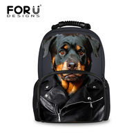 2016 Large Capacity 3D Animal Dog Printing School Bags For Kids Boys Schoolbag Children Book Bag