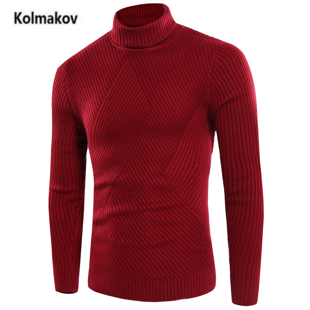 KOLMAKOV 2017 new arrivals font b Men s b font high necked font b sweater b