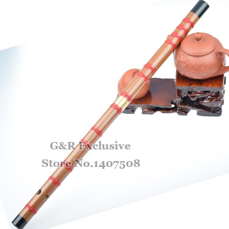 Flauta de Bambú Dizi chino Orient Flauta Instrumentos Musicales Hechos A Mano Pe