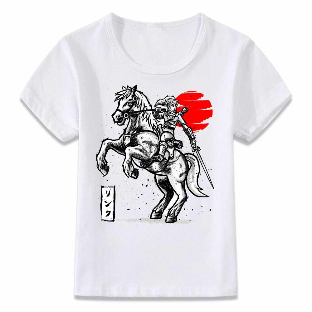 子供服 Tシャツゼルダの伝説トライ力電力勇気知恵 Tシャツ少年少女のための幼児シャツ tシャツ