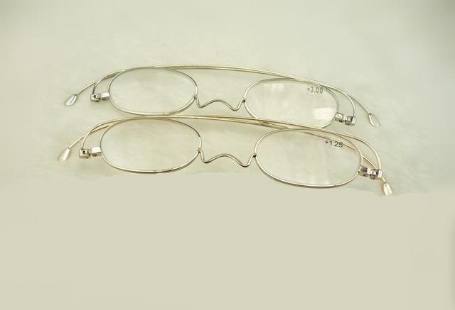 High Quality New Arrival Reading Glasses Men Women 1.5 2.0 2.5 1.75 2.75 3.0 Womens Points Grade Glasses Frameless Eyeglass