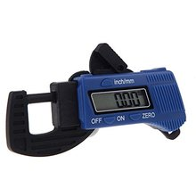 Big discount THGS Digital Outside Millimeter Thickness Caliper Carbon 0-12.7mm Fiber Gauge