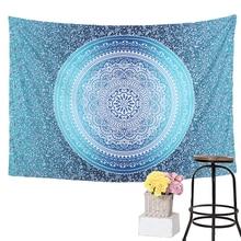 Geometric Mandala Wall Tapestry