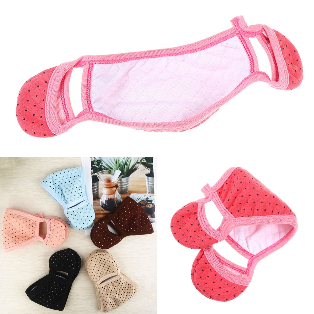 2019 Soft Velvet Winter Face Mask Thermal Fleece Neck Warmer Mouth Face Mask Ears Cycling Facail Care Tool Random Color