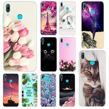 Silicone TPU Phone Case For Huawei Y7 Prime 2019 Soft Cover Y 7