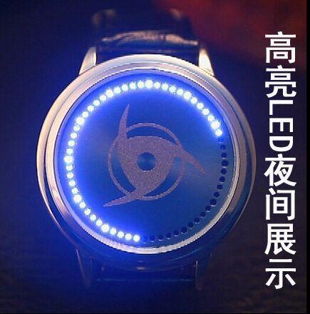 Naruto Kakashi Led Back Light Waterproof Watch