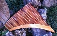 22 Выхлопные трубы для автомобиля профессиональные бамбука флейте изогнутые ручной работы Пан Выхлопные трубы для автомобиля flauta Сяо духов