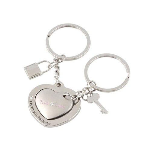 Venda quente 1 Par Amantes Fechamento Do Coração Dos Namorados Casal  chaveiro chaveiro keyfob presente bolsas bolsas em Chave Cadeias de Jóias    Acessórios ... c3d1be087f
