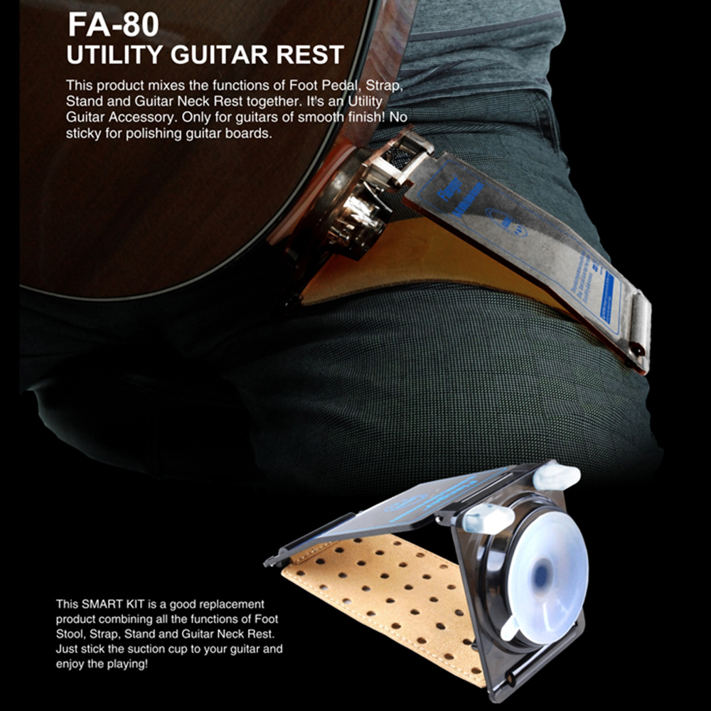 Flanger Guitar Rest Utility Guitar Accessory for Acoustic Guitar Neck Rest two way regulating lever acoustic classical electric guitar neck truss rod adjustment core guitar parts