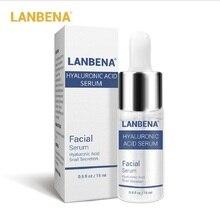 5/10/50pcs LANBENA Hyaluronic Acid Serum Snail Essence Moisturizing Skin Care Ac