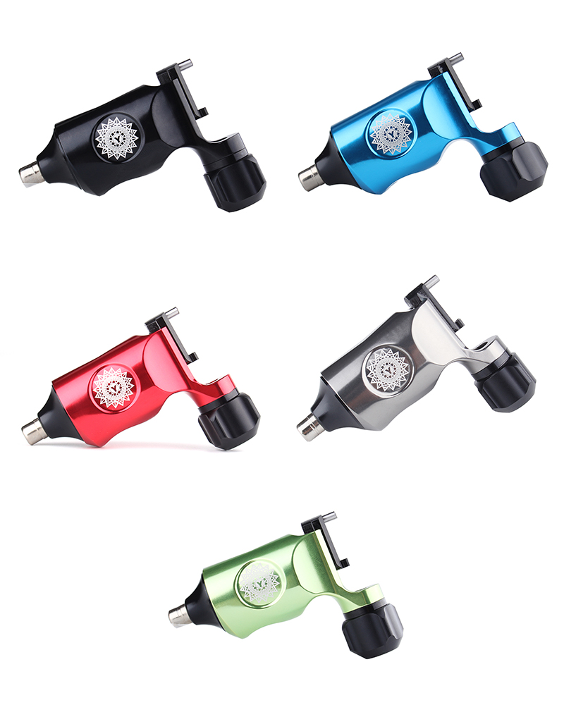New Rotary Tattoo Machine Professional Five Color Tattoo Machine With Free Shipping