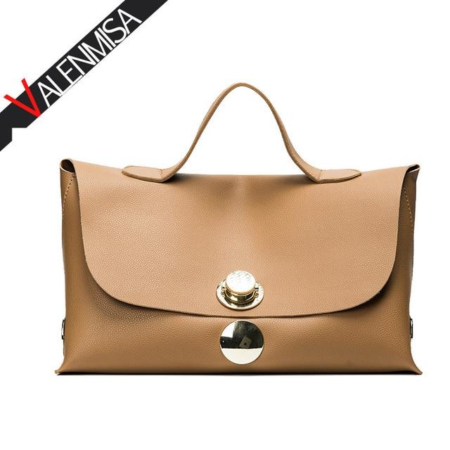 Valenmisa Famous Brand Summer Boston Women Designer Handbags High Quality Tote Bag European Fashion Lock