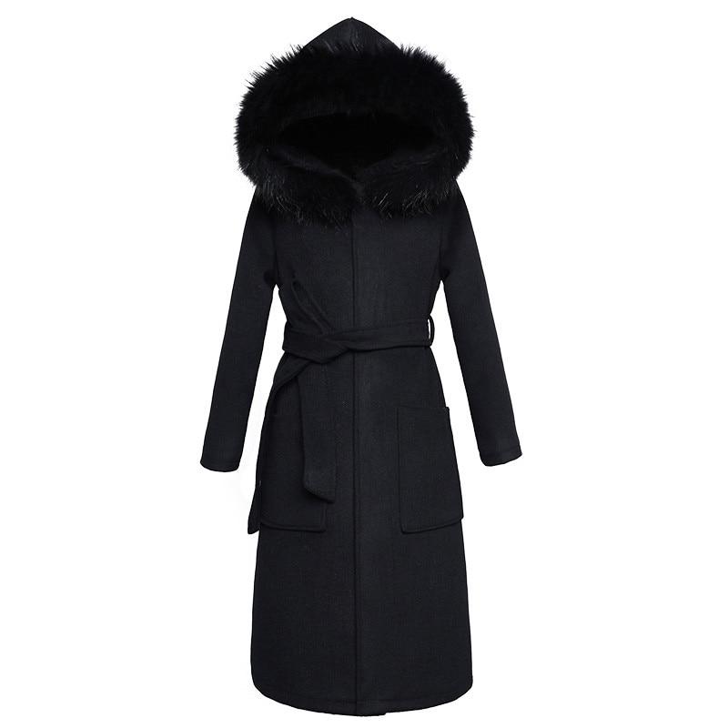 capuz outerwear mid long fino feminino combina casacos